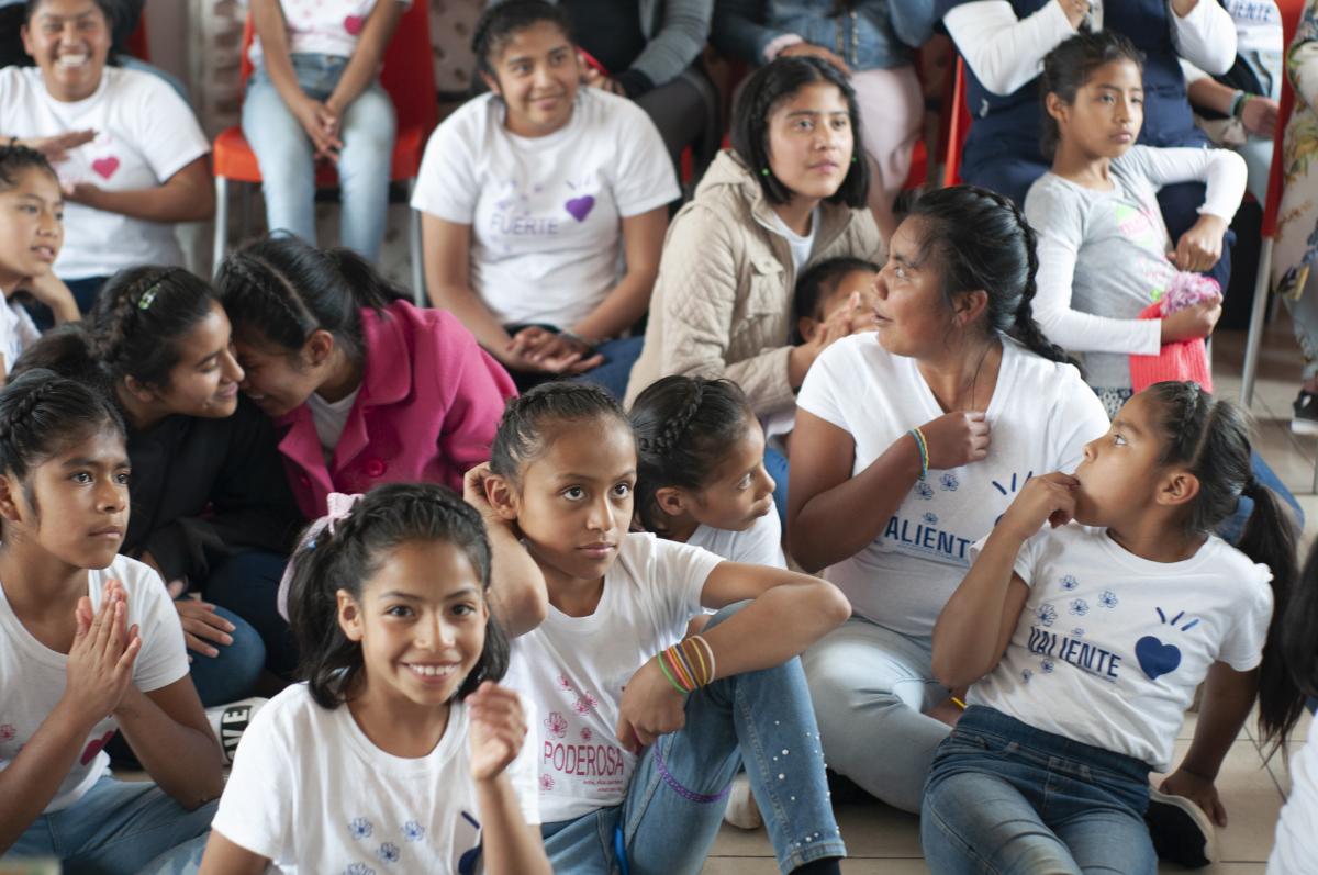 Our girls from Casa Hogar Alegría in Toluca, México